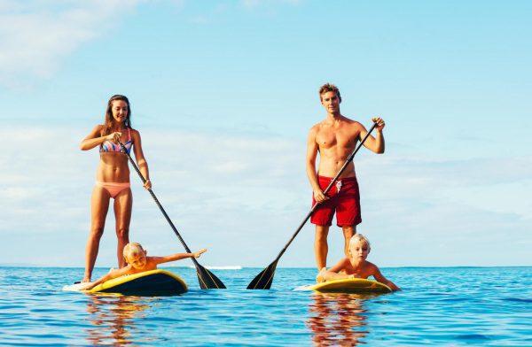 Stand up Paddle é prática benéfica para à saúde