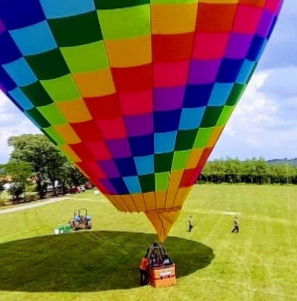 Voo de balão é libertador